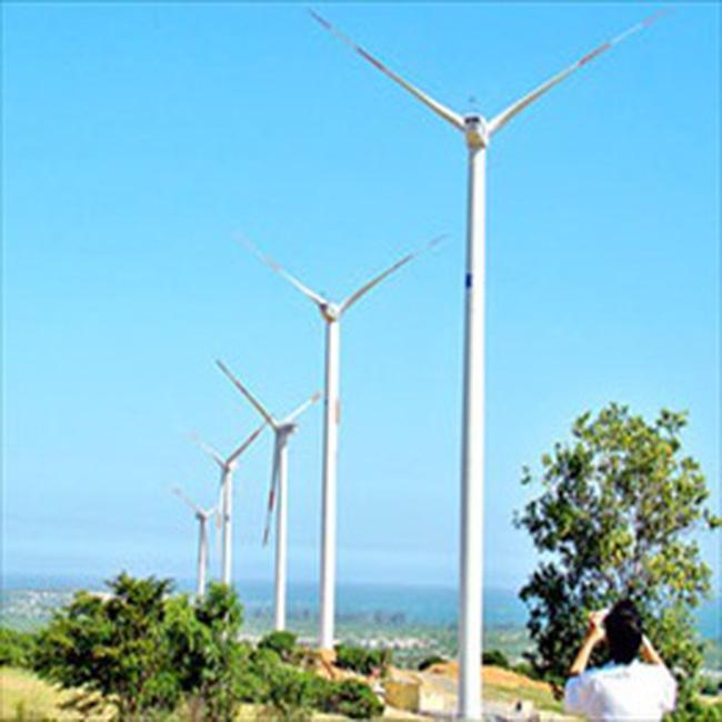 13 dự án phong điện đăng ký tại Bình Thuận