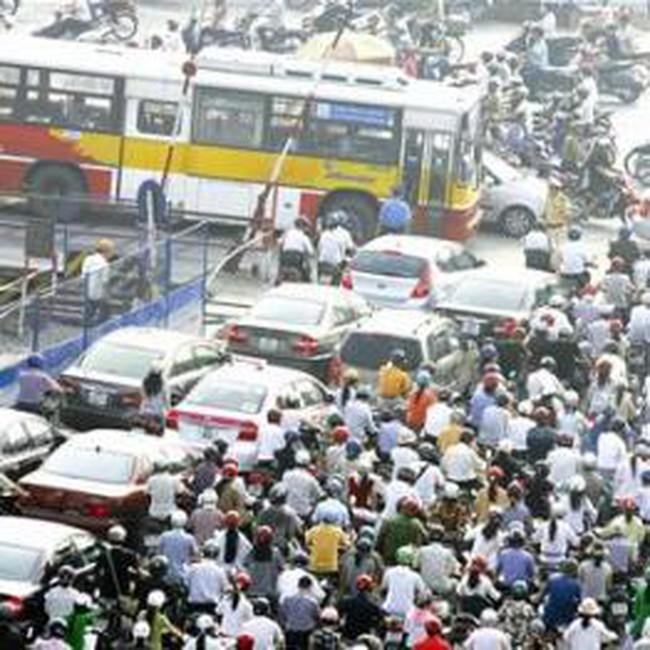 Hà Nội: Chưa phân làn giao thông trên diện rộng