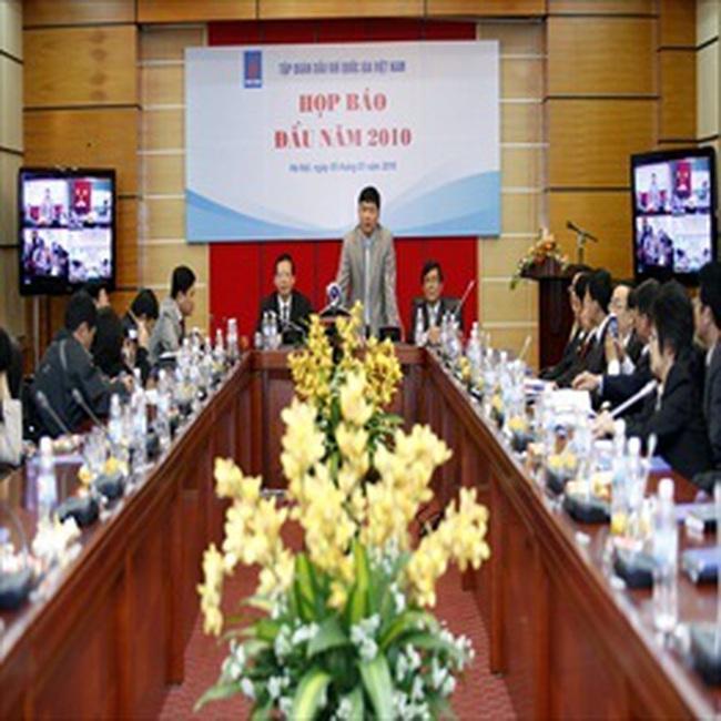 Petro Vietnam đặt kế hoạch 329.000 tỷ đồng doanh thu năm 2010