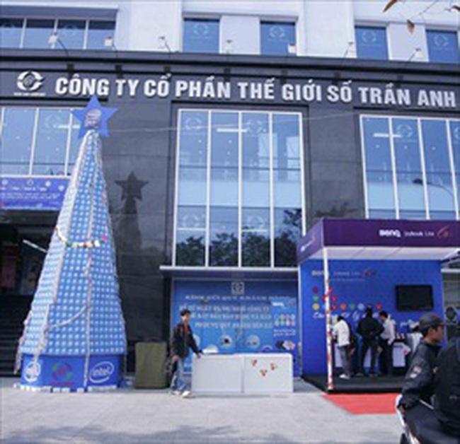 Lưu ký cổ phiếu Trần Anh từ ngày 04/01/2010