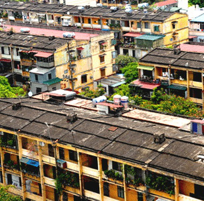 Hà Nội hạn chế cải tạo nhà chung cư riêng lẻ