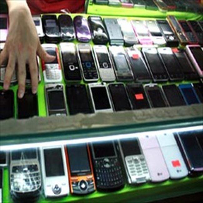 Cấm nhập điện thoại di động đã qua sử dụng