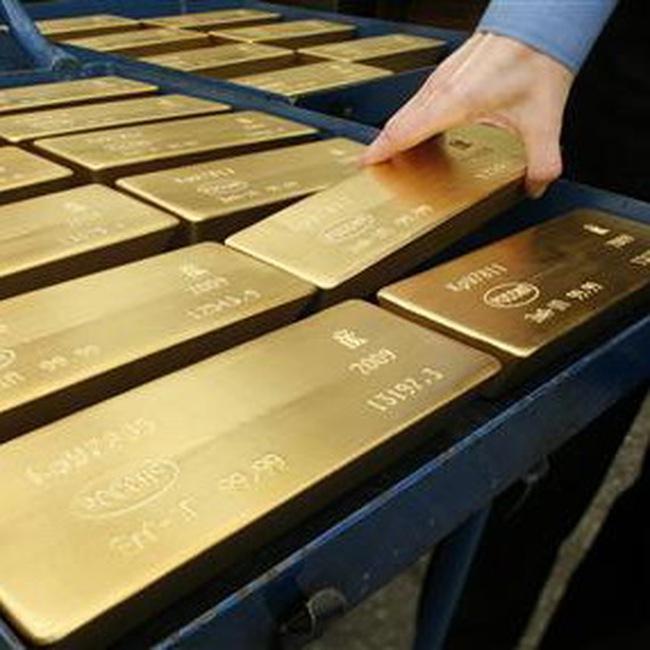 Giá vàng cuối tuần đi lên
