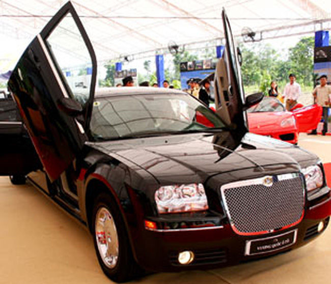 Trung Quốc: Thị trường ôtô hấp dẫn nhất thế giới