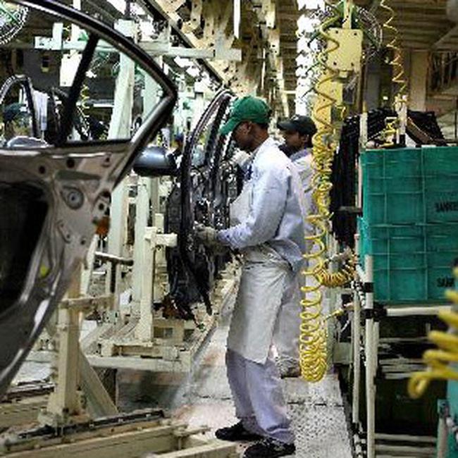 Sản xuất công nghiệp Ấn Độ đi lên mạnh