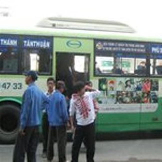 TPHCM: thí điểm đi xe buýt trả tiền bằng thẻ