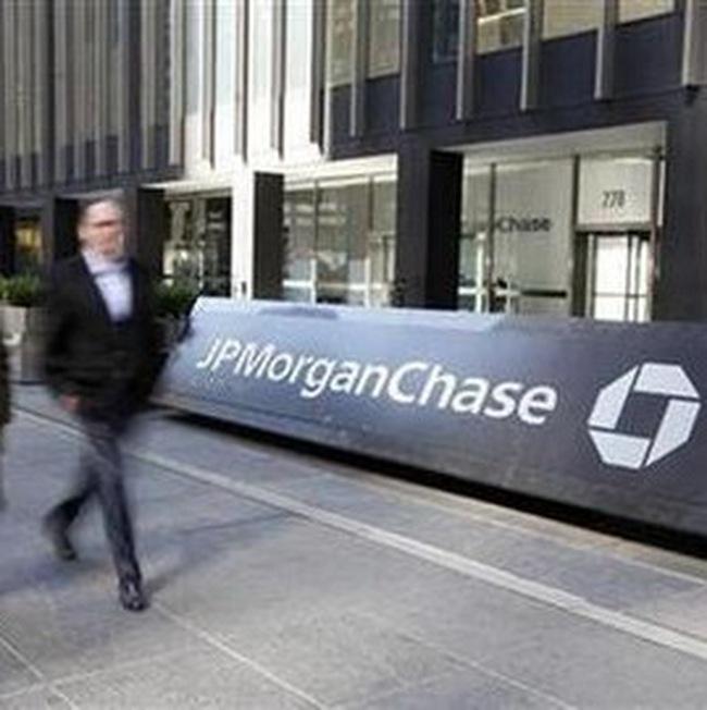 Lợi nhuận quý 4/2009 của JP Morgan Chase tăng 4 lần