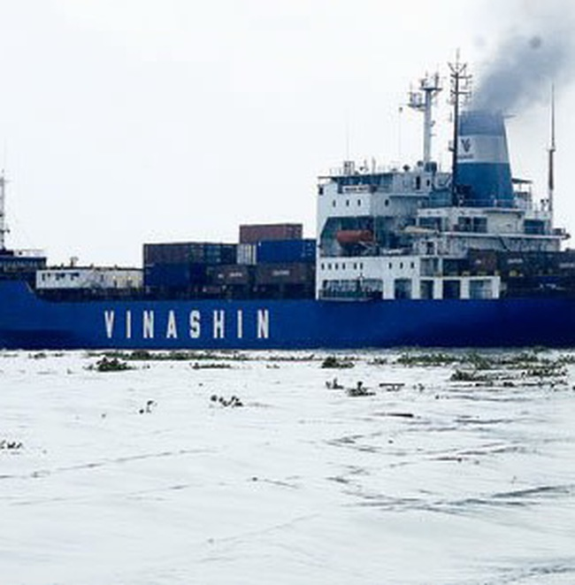 Vinashin công bố lãi khoảng 1.000 tỷ đồng
