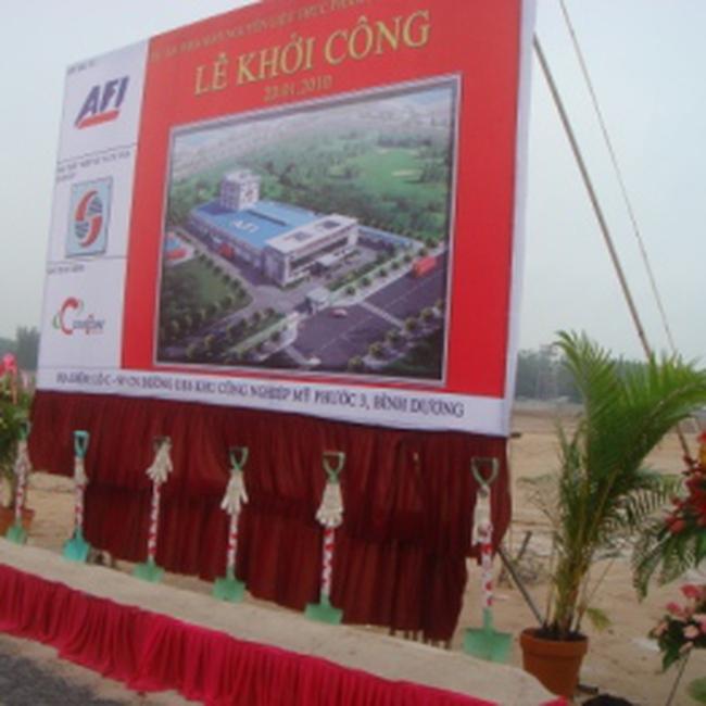 CTD: Khởi công Nhà máy Nguyên liệu Thực phẩm Á Châu Sài Gòn