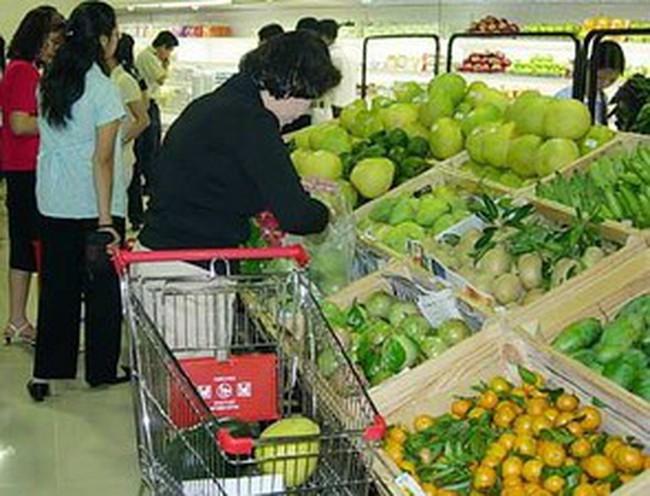 """Thị trường hàng hóa tết tại Hà Nội """"nóng"""" dần"""