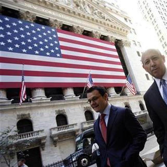 Thị trường Mỹ có 3 ngày mất điểm mạnh nhất từ tháng 3/2009