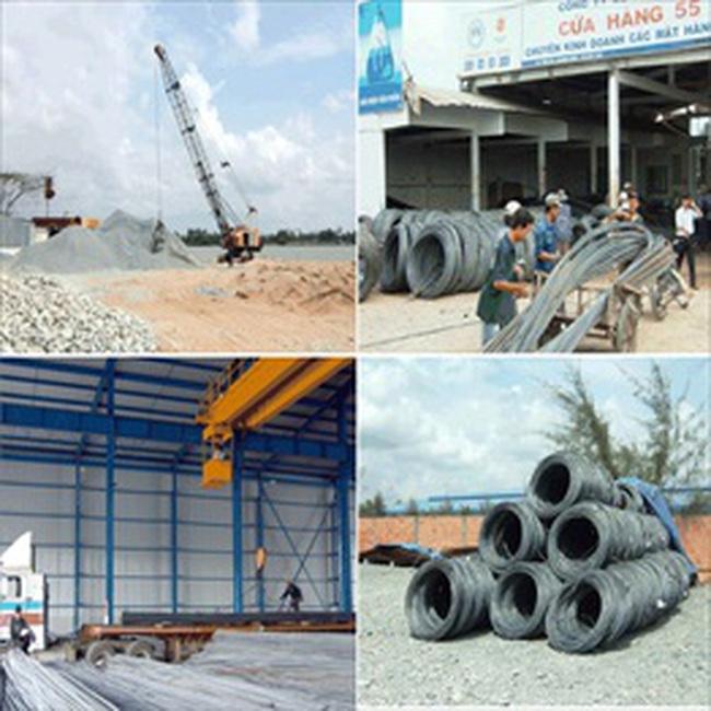 Giá vật liệu xây dựng phải niêm yết công khai