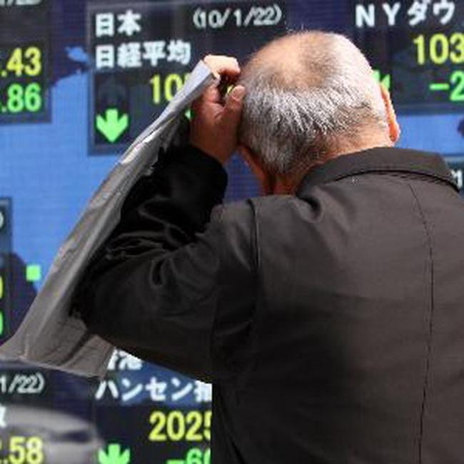 Thị trường châu Á có tuần giảm điểm sâu nhất từ tháng 3/2009