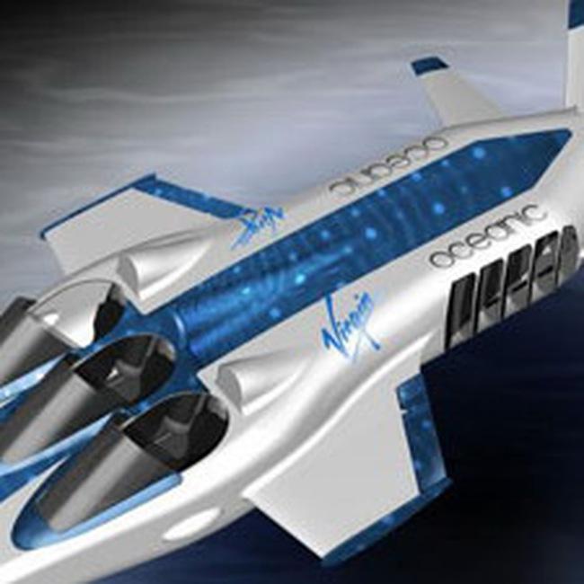 Đồ chơi mới của các tỷ phú: Máy bay dưới nước