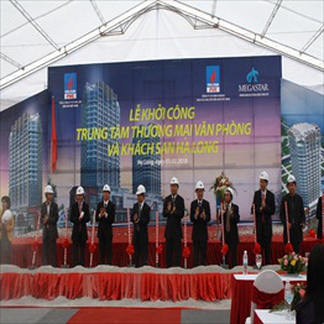 PVX: Khởi công Nhà máy bê tông dự ứng lực PVC - FECON & TTTM, VP và khách sạn Hạ Long
