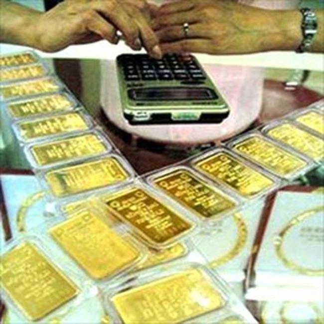 Vàng lên 26,5 triệu đồng/lượng