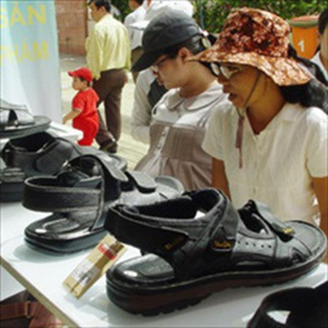 Ngành da giày tham vọng chiếm 50% thị trường