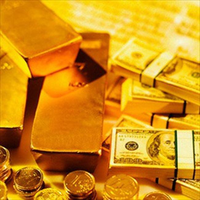 Vàng mất 500 nghìn đồng/lượng