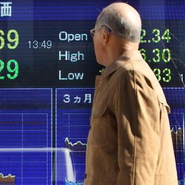 Thị trường châu Á giảm điểm phiên thứ 3 liên tiếp