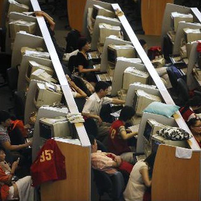 Thị trường chứng khoán Trung Quốc được dự báo sẽ giảm điểm sâu