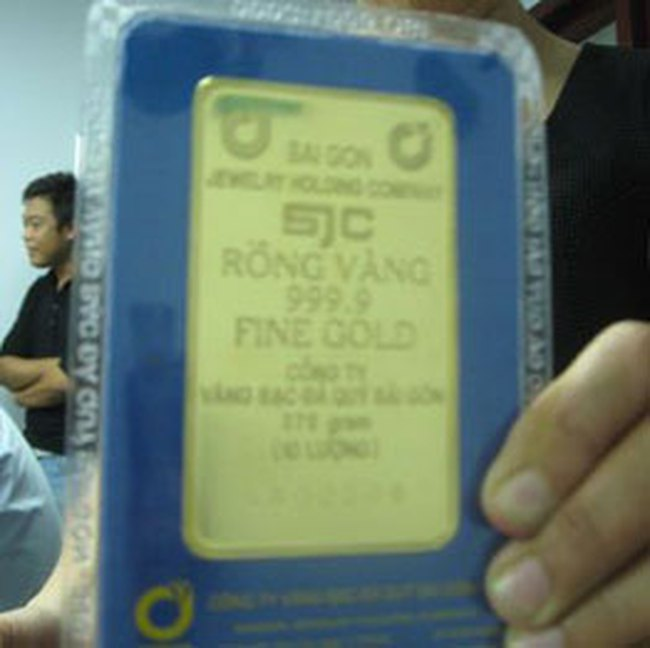 SJC ra mắt vàng miếng 10 lượng