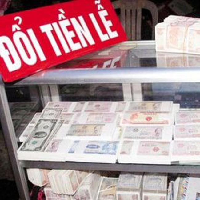 Kiếm bộn tiền nhờ đổi tiền lẻ