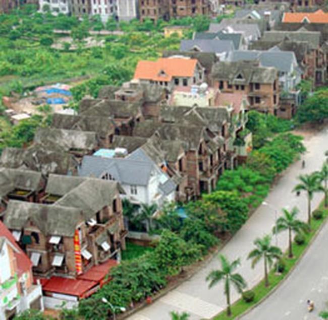 Cuối năm, nhà đất Hà Nội lại đóng băng