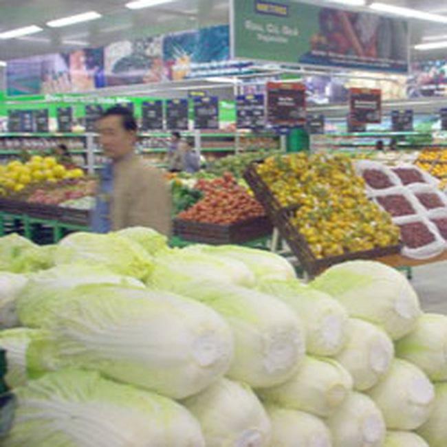 Đầu năm: Sức mua tại các siêu thị chưa cao