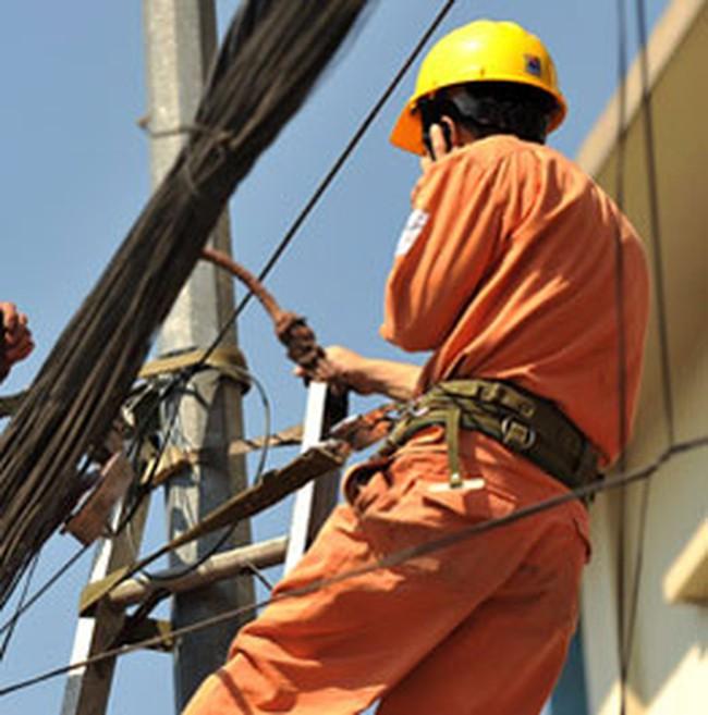 Giá điện tăng 6,8% từ 1/3/2010