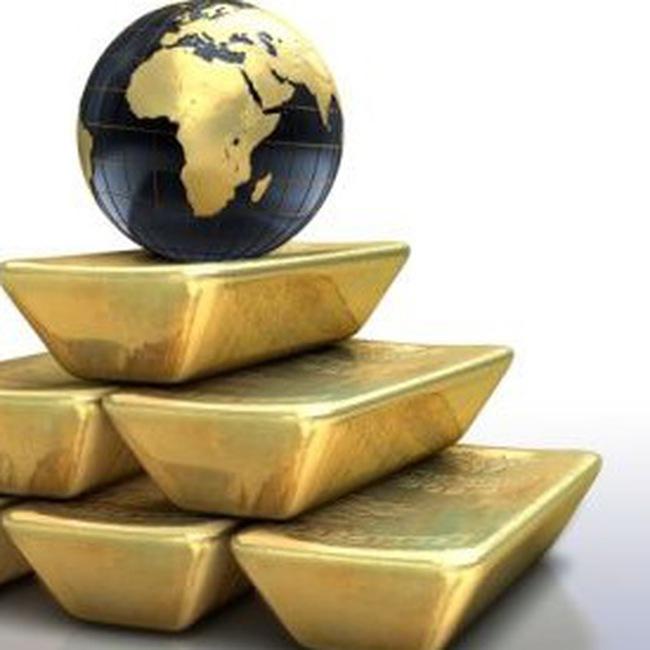 Giá vàng hạ bởi dự báo nhu cầu vàng đi xuống