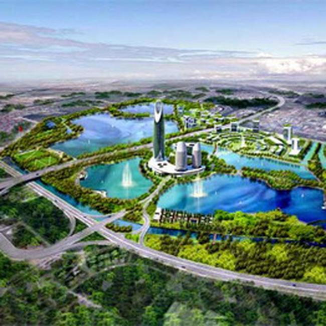 Khoảng 17,6ha dùng làm Khu chức năng đô thị tại Công viên Yên Sở