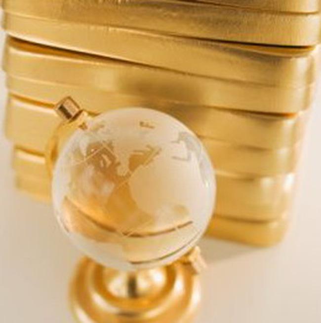 Giá vàng hoàn thành 6 quý tăng giá