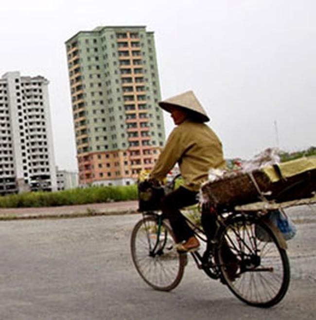 Giá nhà đất Hà Nội tăng 'chóng mặt'