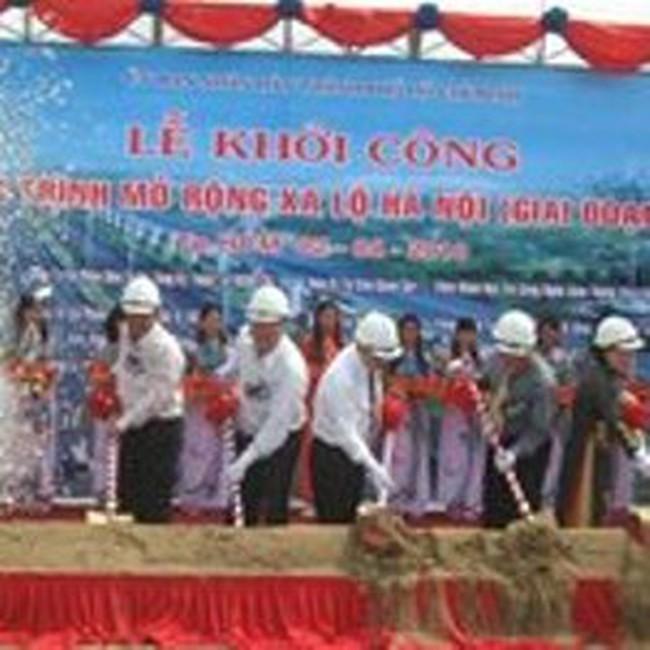 Khởi công mở rộng xa lộ Hà Nội