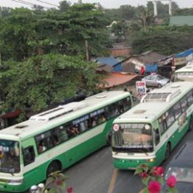 TPHCM: Hàng nghìn xe buýt sẽ được thay mới