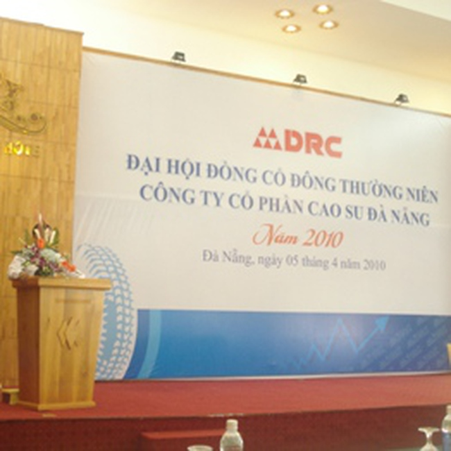 DRC: Đặt mục tiêu từ 180-245 tỷ đồng LNTT