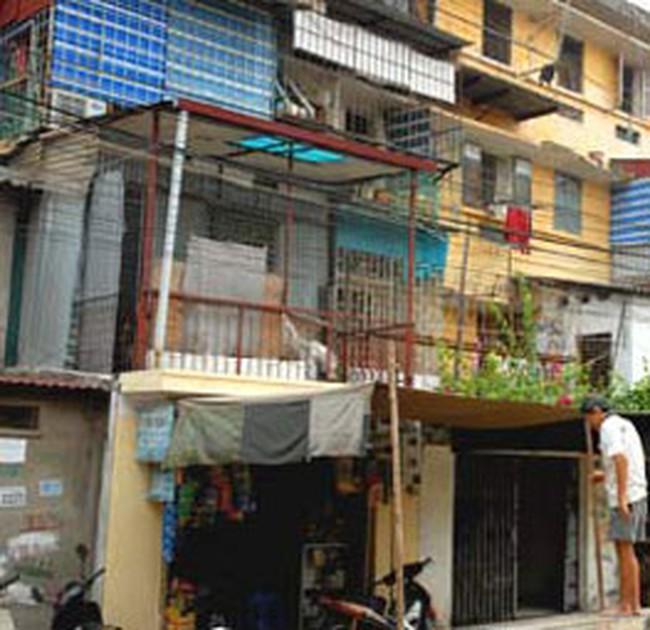 Thị trường chung cư cũ bị sốc