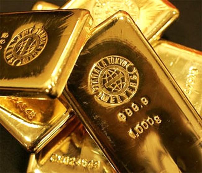 Giá vàng tăng thêm 300.000 đồng/lượng