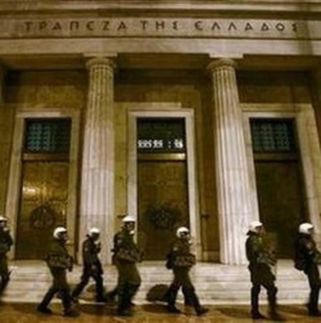 Fitch hạ xếp hạng tín dụng của Hy Lạp và 5 ngân hàng lớn nước này