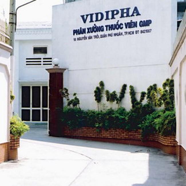 Vidipha: Phát hành 2 triệu cổ phiếu cho cổ đông hiện hữu với giá 27.000 đồng/cp