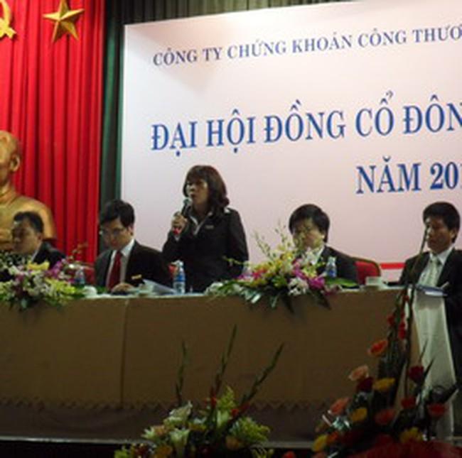 VietinbankSC: Một số NĐT thắc mắc về Tờ trình phương án phân chia lợi nhuận 2009