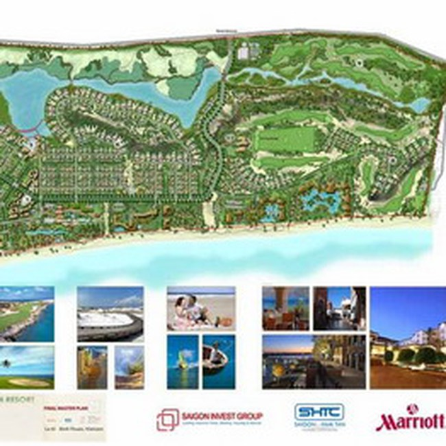 Marriott International quản lý Resorts và khách sạn tại Khu Du lịch Sài Gòn - Hàm Tân