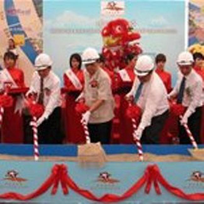 Khởi công khu nghỉ dưỡng 5 sao tại Bà Rịa-Vũng Tàu