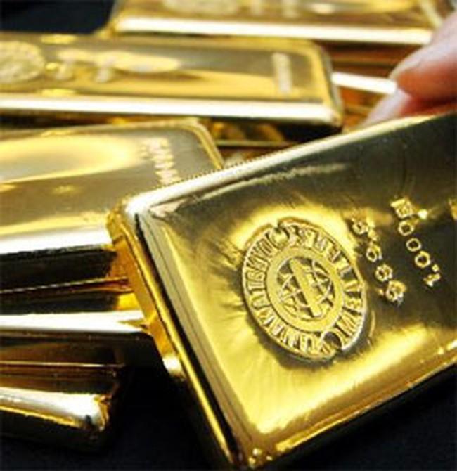 Vàng giảm giá gần 150.000 đồng/lượng