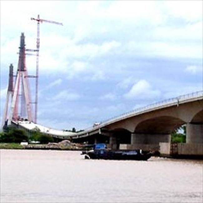 Hoàn thành cầu Cần Thơ, cây cầu lớn nhất Đông Nam Á