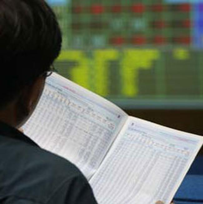 Vn-Index tăng giảm liên tục trong phiên
