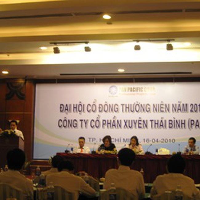 PAN: 60% lợi nhuận năm 2010 dự kiến từ hoạt động tài chính
