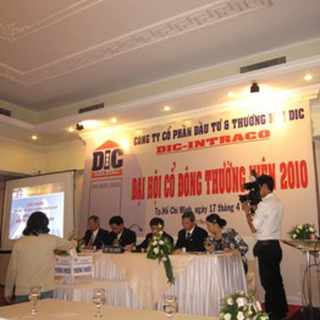 DIC: Đặt mục tiêu tăng trưởng lợi nhuận 146,3% trong năm 2010