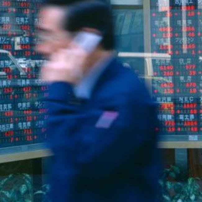 Thị trường châu Á giảm điểm mạnh nhất trong 2 tháng
