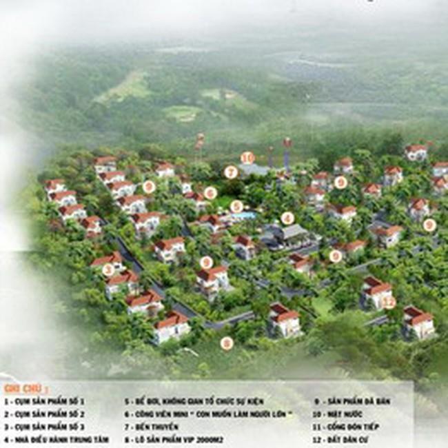 Công bố bán giai đoạn 2 Top Hill Villas với giá từ 5 triệu đồng/m<sup>2</sup>